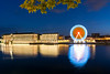 Tolosa - Vacanze 2017 (auredeso) Tags: tolosa toulose francia france fiume river ruota wheel notturna night lumnanza nikon d7100 tokina nikond7100 toki vacanze estate 2017 summer holiday