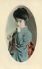 Geigi Otomaru 1910s (2) (Blue Ruin 1) Tags: geigi geiko geisha japanese japan meijiperiod taishoperiod 1910s postcard shinbashi tokyo otomaru