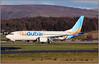 IMG_5730FL7 (Gerry McL) Tags: boeing 737 max8 a6fmc flydubai delivery ferry glasgow scotland gla egpf