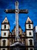 Igreja do Pelô (AndressaNowasyk) Tags: salvador bahia brazil pelourinho church catholic bible cross sky blue