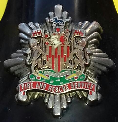 Derbyshire Fire and Rescue Service Lapel pin badge