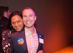 2018.01.06 Out for Pete II with Martin O'Malley and Danica Roem, Washington, DC USA 2249