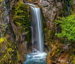 Time Flows Like a River (Philip Kuntz) Tags: christinefalls vantrumpcreek rainier mtrainiernationalpark waterfalls washington