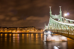 Budapest (Carrowlyn) Tags: budapest bridge river night photography city cityscape landscape nature view lights love amazing winter travel traveling travelling incredible