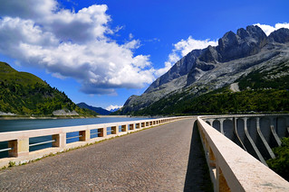 Day 32 - Along the Fedaia Dam