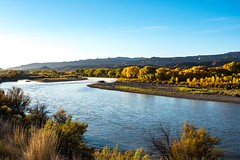 Colorado River At Dawn (mbinebrink) Tags: colorado river sunrise autumn october coloradoriver dawn