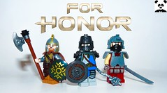 For Honor (Random_Panda) Tags: lego figs fig figures figure minifigs minifig minifigures minifigure purist purists character characters comics hero heroes comic book books films film movie movies tv show shows television for honour honor games game video gaming