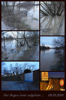 Hochwassergefahr 2018
