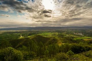 Vista desde el Observatorio Nacional Bosque Alegre