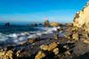 Coastal Corona del Mar (tquist24) Tags: california coronadelmar newportbeach nikon nikond5300 pacificocean beach cliff geotagged longexposure ocean rock rocks sand sea seascape shadow shadows shore sky water wave unitedstates