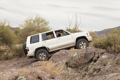 Bulldog Canyon - December 17, 2017 (olivervonmizener) Tags: arizona off road offroad 4x4 isuzu trooper bulldog canyon hiking hike nature dirt rock crawling mud mudding