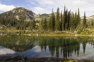 Keen Lake and Garland Lake (explored)