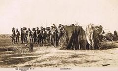 South Australian Aborigines - very early 1900s (Aussie~mobs) Tags: transaustralia postcard native indigenous aborigines southaustralia australia vintage transaustraliarailway aussiemobs