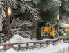 Christmas Train (shottwokill) Tags: christmas holiday southcoastplaza decorations train nikon d800 28300 pine snow travel toytrain tree lights