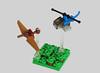 Pteranodon Capture (Grantmasters) Tags: jurassicpark jurassicworld lego dinosaur helicopter pteranodon micro