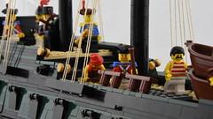 HMS Royal Oak - 6th Rate (Ayrlego) Tags: lego brethrenofthebrickseas bobs frigate 6thrate redcoats