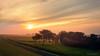 Die Sonne geht auf am Nordseedeich.jpg (Knipser31405) Tags: schleswigholstein dithmarschen 2017 sonnenaufgang friedrichskoog nordsee herbst