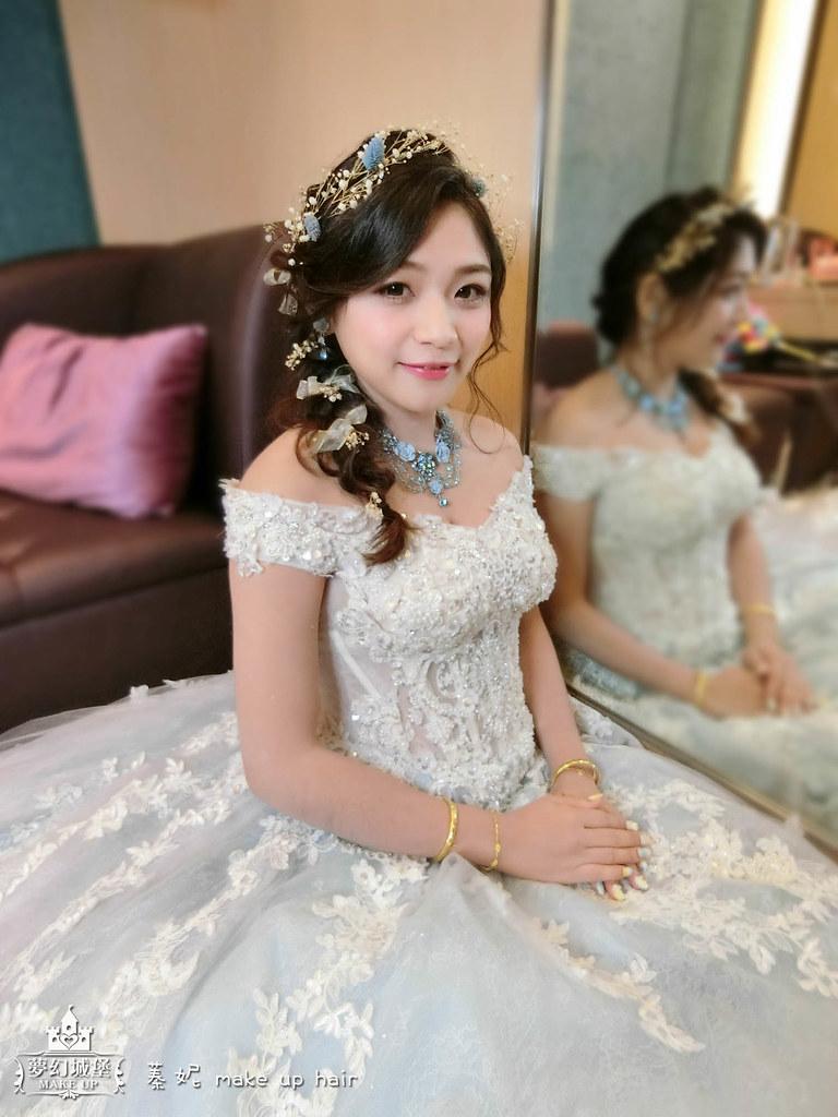 【新秘蓁妮】bride星妘 宴客造型 / 梧棲海港城婚宴會館