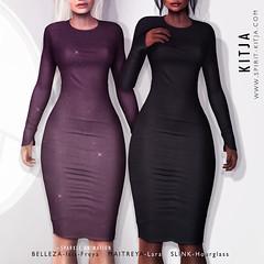 KITJA-Ciara Dress (ᴋɪᴛᴊᴀ) Tags: kitja uber spiritkitja secondlife maitreya maitreyalara belleza bellezaisis bellezafreya slink slinkhourglass