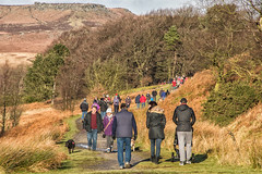 Busy Boxing Day at Longshaw, Derbyshire (little mester.) Tags: longshaw longshawestate derbyshire derbyshirepeakdistrict nationaltrust heaving boxingday winter2017