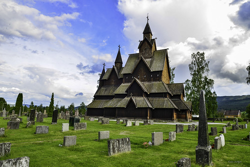 Heddal Stave Church, Norway_s largest stave church