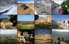 Photos- 2017 (France-♥) Tags: collage travel nature mosaic france amsterdam californie spain whistler girona conques voyage