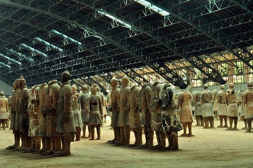 Bingmayong - Terracotta Army, Xi'an