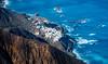Fishing Village (Schmendrax) Tags: canaryislands blue adventure spain ocean cliffs trekking mountains tenerife outdoor fishingvillage village hiking idyllic esp