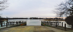 Boat Ramp (r.w.dawson) Tags: park lancastercounty virginia va usa belleislestatepark landscape deepcreek rappahannockriver waterway