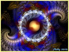 *Super fullmoon!* (MONKEY50) Tags: art digital fractal colors moon supermoon fullmoon abstract musictomyeyes ball autofocus hypothetical contactgroups flickraward artdigital beautifulphoto awardtree