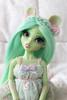 Brindille ✿ (Karamel_Barbaris) Tags: bjd mysticdolls aria eglantine souris verte green mouse doll