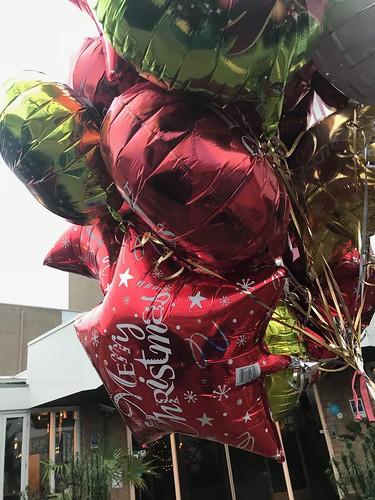 Heliumballonnen Folieballonnen Kerst Carlton Oasis Hotel Spijkenisse