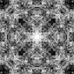 1690967543 (michaelpeditto) Tags: art symmetry carpet tile design geometry computer generated black white pattern