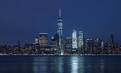 Jersey City (Comète78) Tags: jersey city jerseycity skyline newyork architecture batiments buildings building mairie usa etatsunis new york oneworld oneworldtradecenter katyn