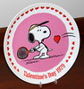 Vintage Peanuts 1979 Valentine's Day Plate By Charles Schulz, Third In A Limited Edition Series, Produced By Schmid Brothers, Measures 7.5 Inches In Diameter, Made In Japan (France1978) Tags: 1979peanutsvalentinesdayplate valentinesday happyvalentinesday charlesmschulz peanutsandthegang1979schmidvalentinesdayplate