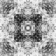 1539518627 (michaelpeditto) Tags: art symmetry carpet tile design geometry computer generated black white pattern