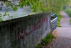 i real hasta la muerte (M a r i S à (very busy)) Tags: wall writing graffito