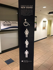 Three gender signage (quinet) Tags: 2017 bc canada mapleridge thirdgender trans transgender vancouver britishcolumbia 124