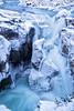 Blue Hour Waterfall (Kristin Repsher) Tags: icefieldsparkway longexposure bluehour sunwaptafalls waterfall jaspernationalpark canada winter alberta canadianrockies nikond750 highway93n jasper nikon rockies rockymountains ca