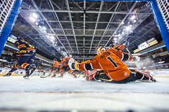 """Kansas City Mavericks vs. Colorado Eagles, December 16, 2017, Silverstein Eye Centers Arena, Independence, Missouri.  Photo: © John Howe / Howe Creative Photography, all rights reserved 2017. • <a style=""""font-size:0.8em;"""" href=""""http://www.flickr.com/photos/134016632@N02/24278193947/"""" target=""""_blank"""">View on Flickr</a>"""