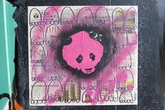 'Orrible street art, Shoreditch (duncan) Tags: graffiti shoreditch streetart orrible panda stencil