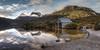 Dove Lake 1 (Bradley Grove) Tags: mountain rocks sky sunrise cradle dawn dove lake moody shed tasmania