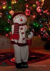Bucket of Snow #Shoot52 (Michael Koole - Vision Three Images) Tags: michaelkoole nikon d300 sb600 speedlight nikkor 35mmf2d shoot52 week51 strobist christmas snowman cls rogue 3n1 grid decorations