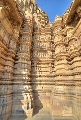 Khajuraho_Kandariya Mahadev Temple-6 (Mukul Banerjee (www.mukulbanerjee.com)) Tags: khajuraho orchha madhyapradesh india heritage unescoworldheritagesite temples