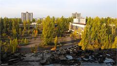 City of Pripyat; central square (Aad P.) Tags: chernobyl чорнобиль pripyat припять ukraine україна sovietunion cccp nuclearpowerplant radioactivity radiation urbex urbexphotography exclusionzone