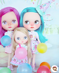 Thank you everybody for a wonderful year! You have all been so lovely and inspire me to become better. Me and my dolls wish you a happy New Year 2018. 😘 #ninadollface