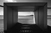 The Box Seat (OzzRod) Tags: pentax k1 laowa12mmf28 monochrome blackand white design architecture lines convergence light shade walkway lakemacquarie australia dailyinjanuary2018 ultrawide seat