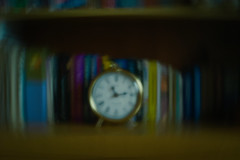 receiving time (Neko! Neko! Neko!) Tags: colour clock time perception past present future reality symbolic pinhole expression expressionism