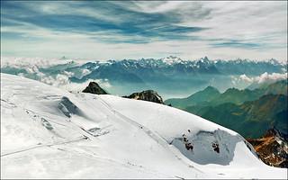 Infinite Alpine peaks