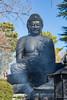Great Buddha with incense (tokyobogue) Tags: tokyo japan nikon nikond7100 d7100 jourenji jourenjitemple temple newyear oshogatsu daibutsu statue buddha bigbuddha incense
